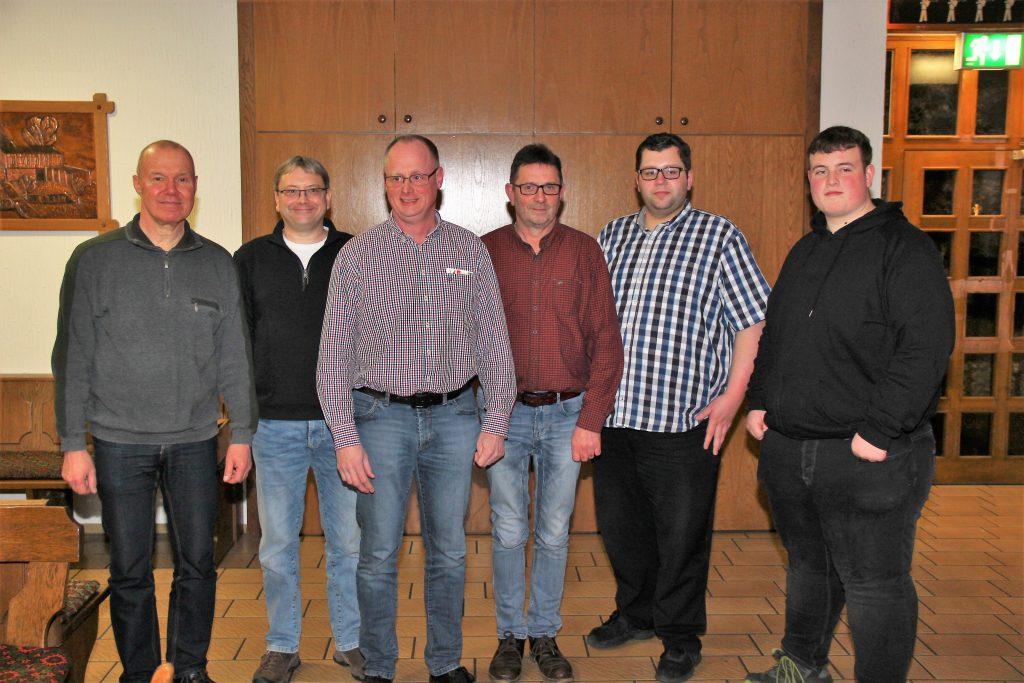 Vorstand des SSC Höingen